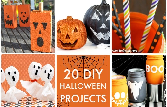 Great Ideas — 20 DIY Halloween Projects!