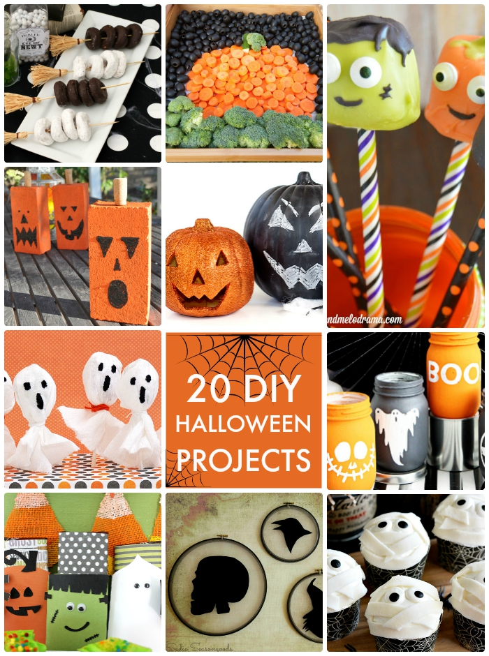 20 diy halloween projects - Halloween Projects Diy