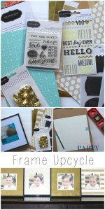 DIY Upcycled Frames