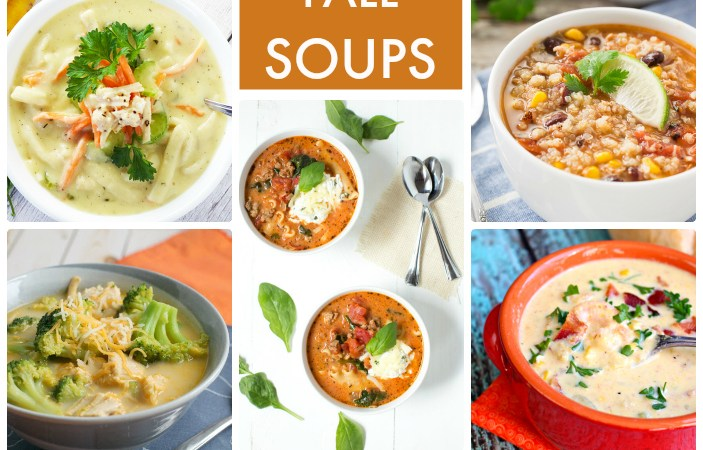 Great Ideas — 13 Warm & Hearty Fall Soups!