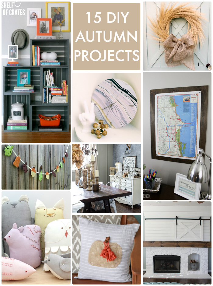 15 DIY Autumn Projects