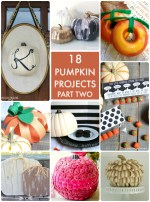 Great Ideas — 18 Pumpkin Projects Part 2!