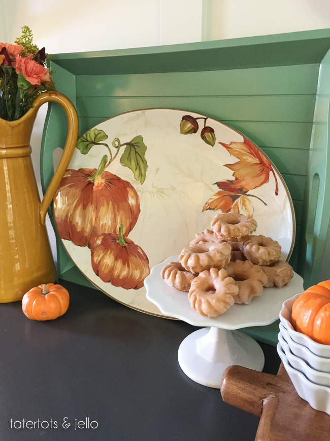 Thanksgiving, Autumn plate wall, entertaining