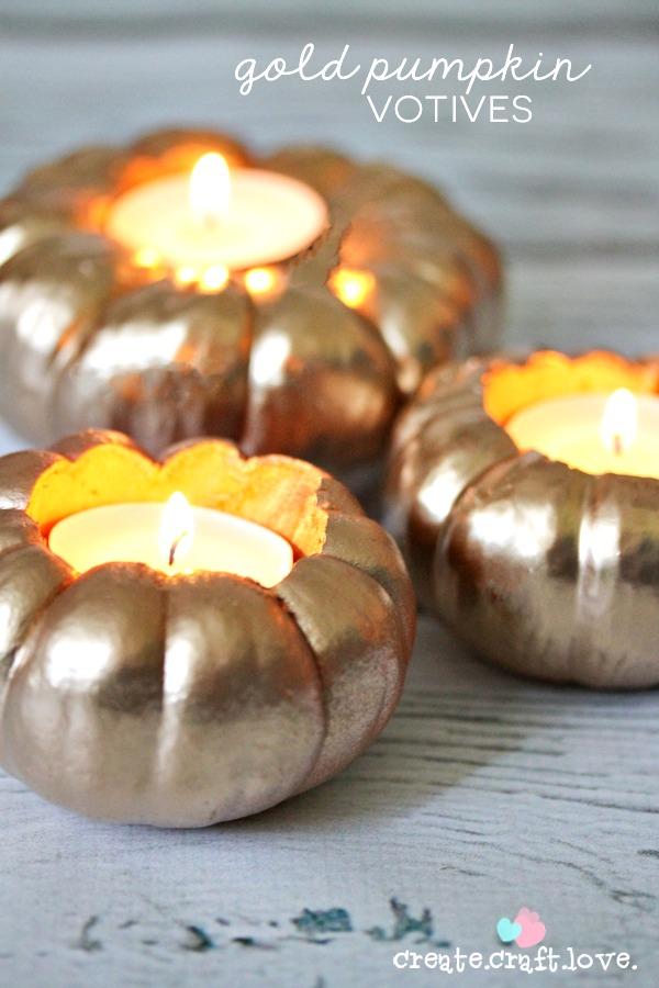 gold-pumpkin-votives