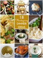 Great Ideas — 18 Thanksgiving Dinner Ideas!
