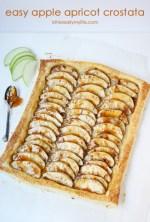 Happy Holidays: Easy Apple Apricot Crostata