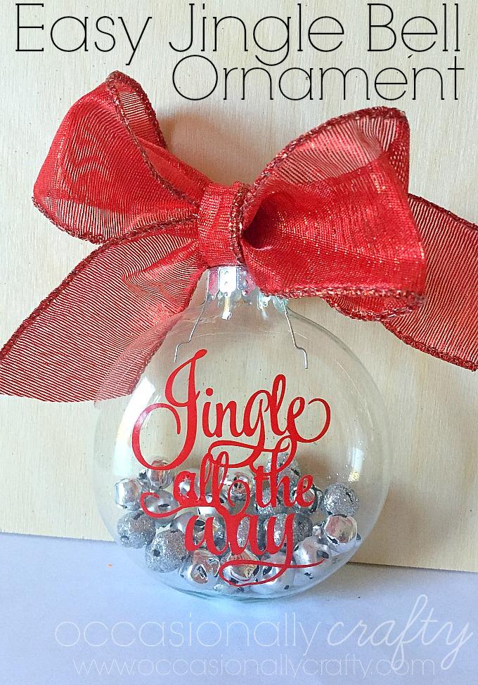 Easy Jingle Bell Ornament