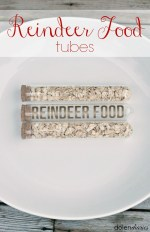 Happy Holidays: Reindeer Food Tubes
