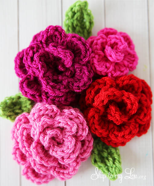 free-crochet-rose-pattern