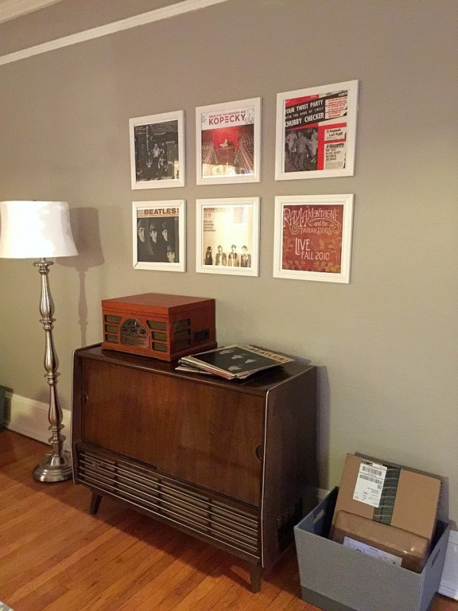 lowes holiday makeover record corner