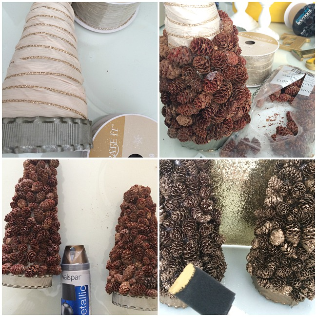 making-the-pinecone-topiary