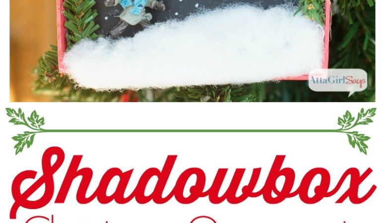 Happy Holidays: DIY Shadowbox Christmas Ornaments