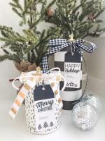 Jolis forfaits - Étiquettes-cadeaux imprimables en noir et blanc!