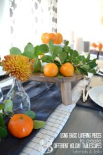 Using Basic Layering Pieces to Create 3 Different Holiday Tablescapes !