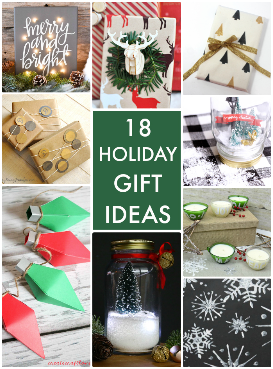 18 Holiday Gift Ideas