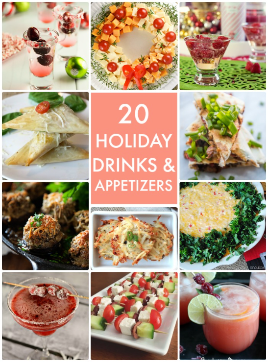 20 Holiday Drinks and Apps