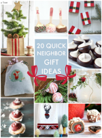 Great Ideas — 20 Quick & Easy Neighbor Gift Ideas!