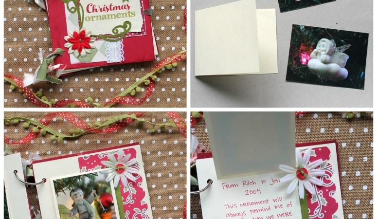 Happy Holidays: Christmas Ornaments Mini Album