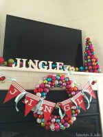 """Family Holiday Movies and """"Jingle"""" Party Banner and Printables"""
