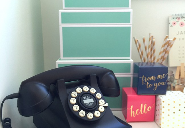 Getting Organized – My Bedroom Work Space