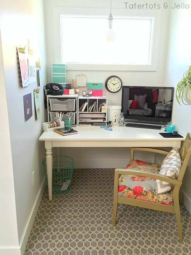 bedroom work nook