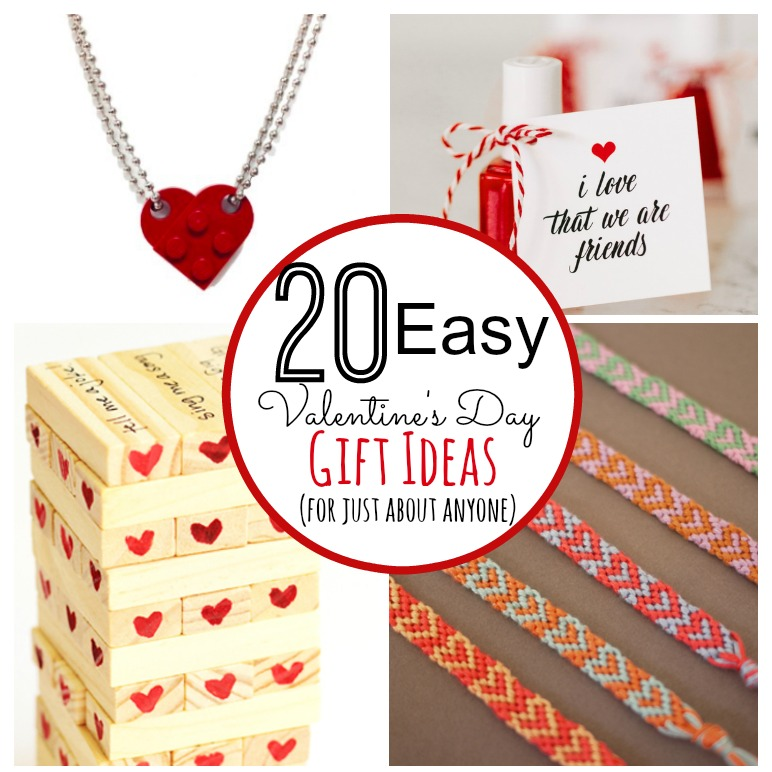 20 Easy Gift Ideas for Valentine's Day