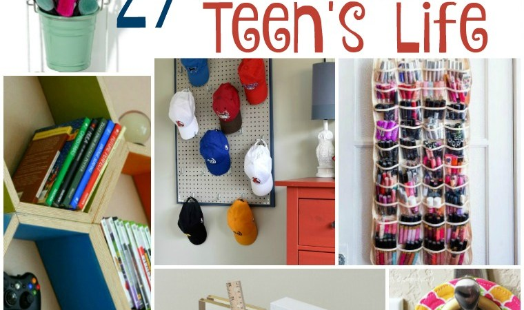 27 Ways to Organize Your Teen's Life