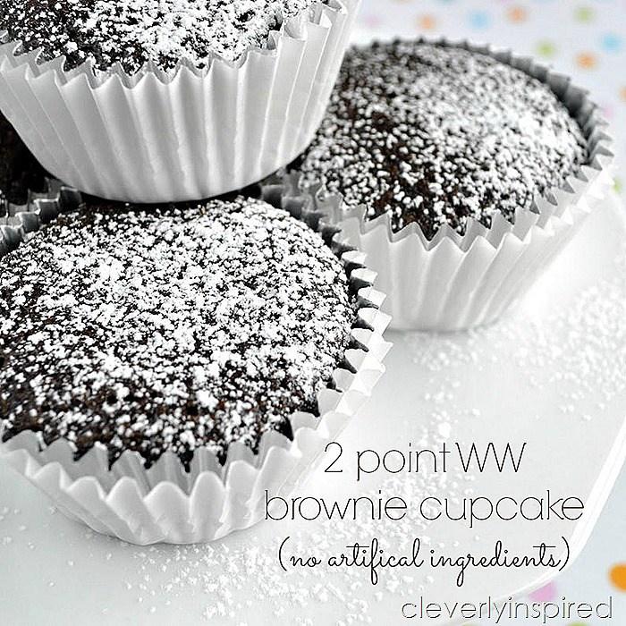 2-point weight watcher brownie dessert recipe