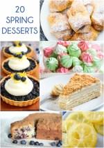 Great Ideas — 20 Spring Desserts!