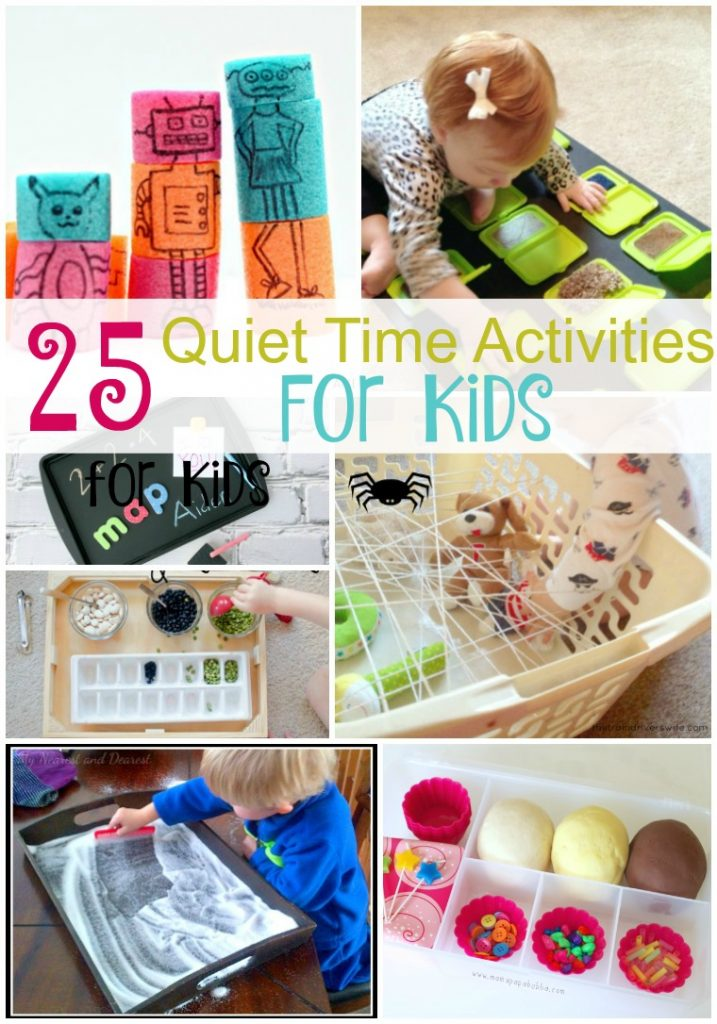 25 Quiet Time Activities