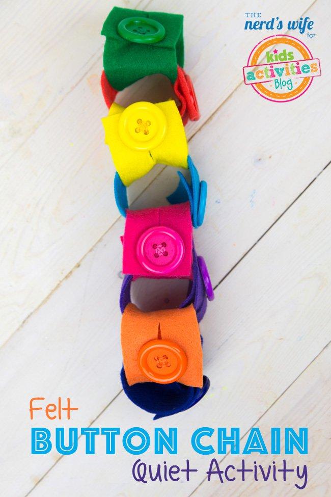 Felt-Button-Chain