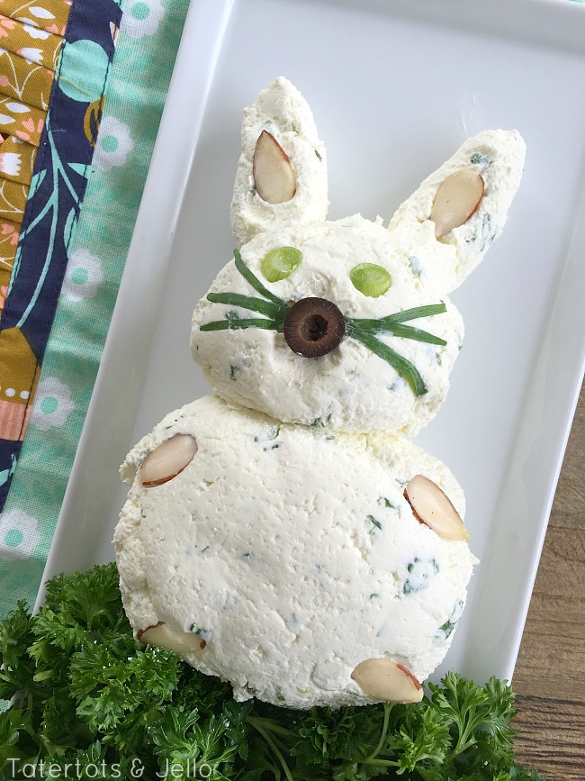Bunny Cheese Ball Party Recipe