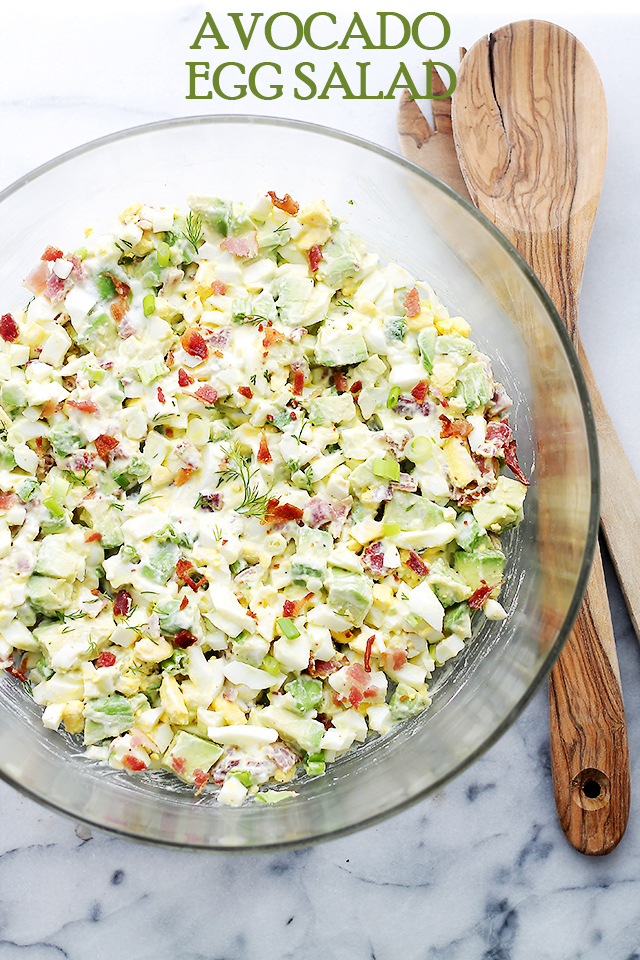 Avocado-Egg-Salad