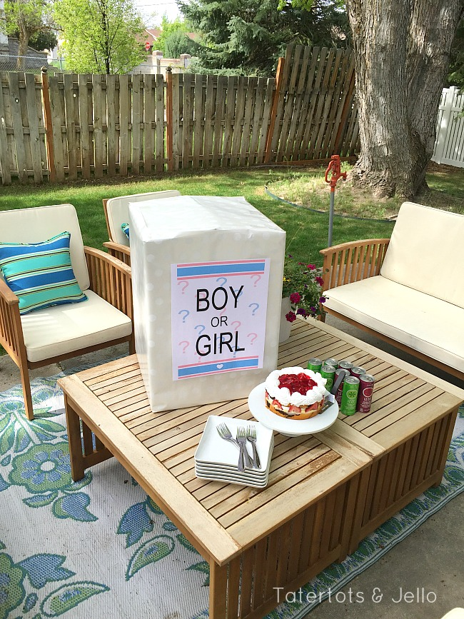 Gender Reveal Party Balloon DIY and Printable