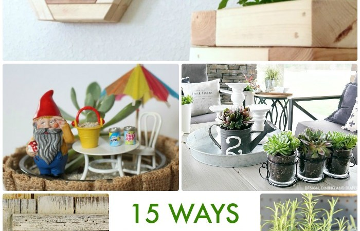 Great Ideas — 15 Ways to Decorate with Nature!