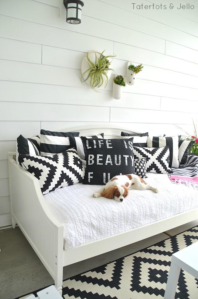 Make an Outdoor Room.