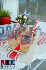 Patriotic Wood Tray DIY and giveaway