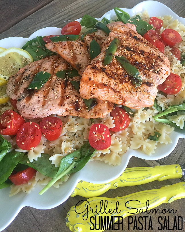 summer pasta veggie salad