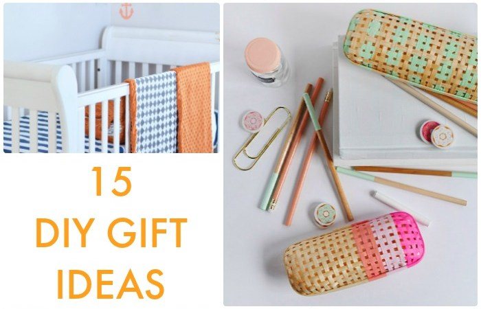Great Ideas — 15 DIY Gift Ideas!