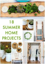 Great Ideas — 18 Summer Home Projects!