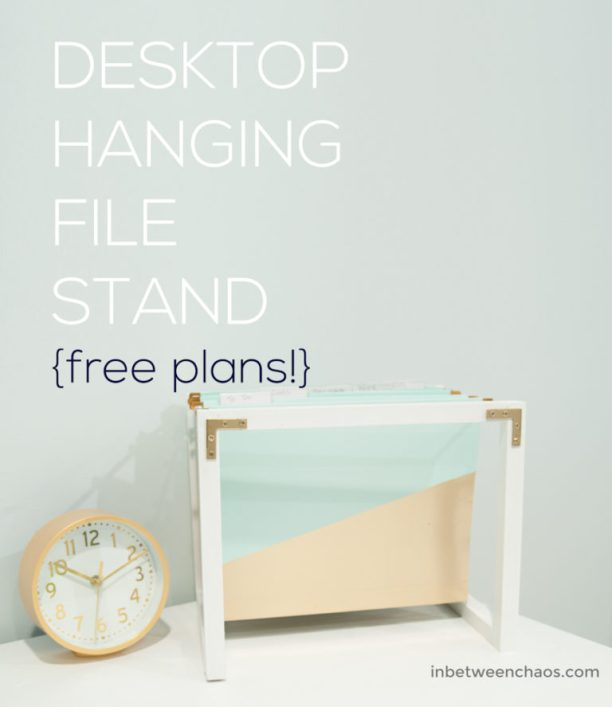Desktop Hanging Folder Stand