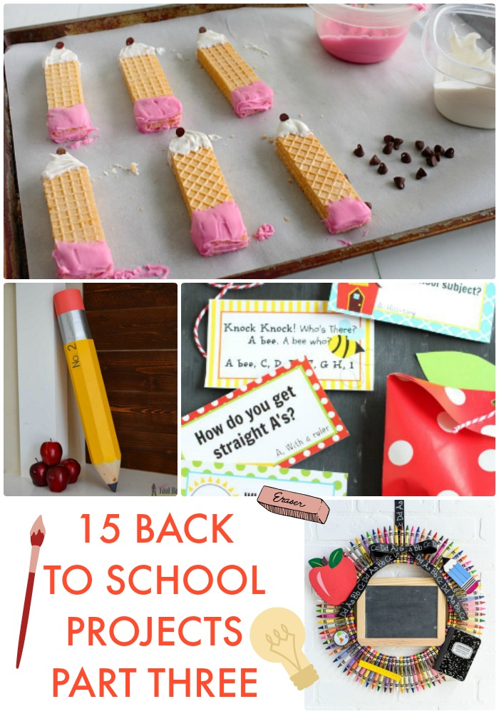 15 Back to School Projects Part Three
