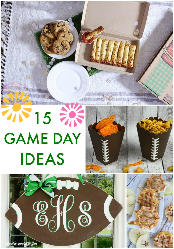 15 Game Day Ideas