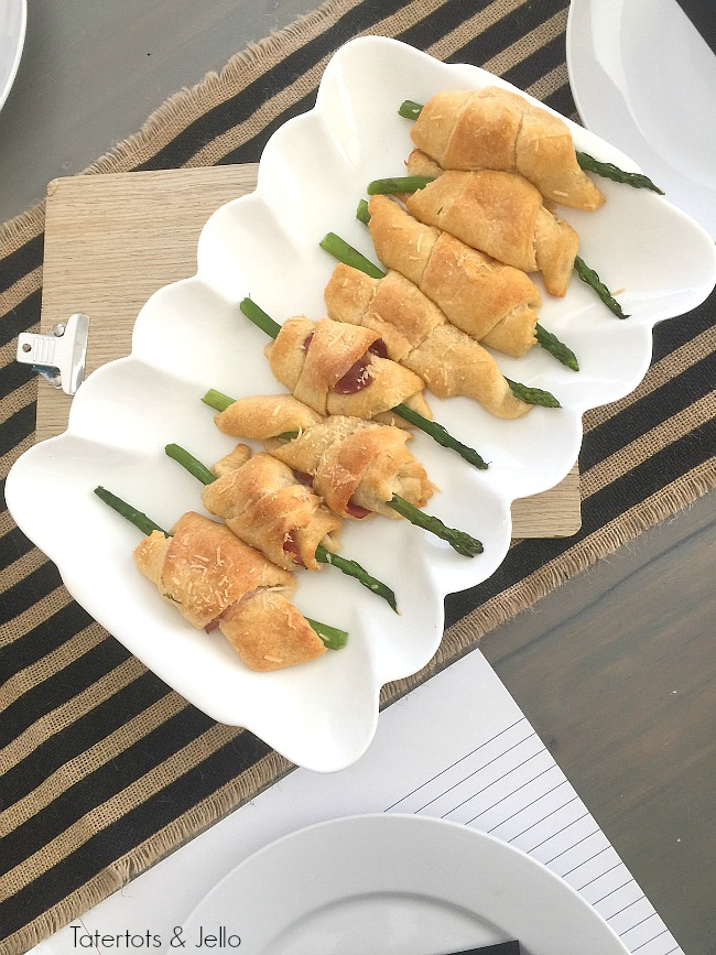 croissant wrapped asparagus