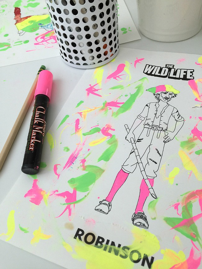 free the wild life coloring pages