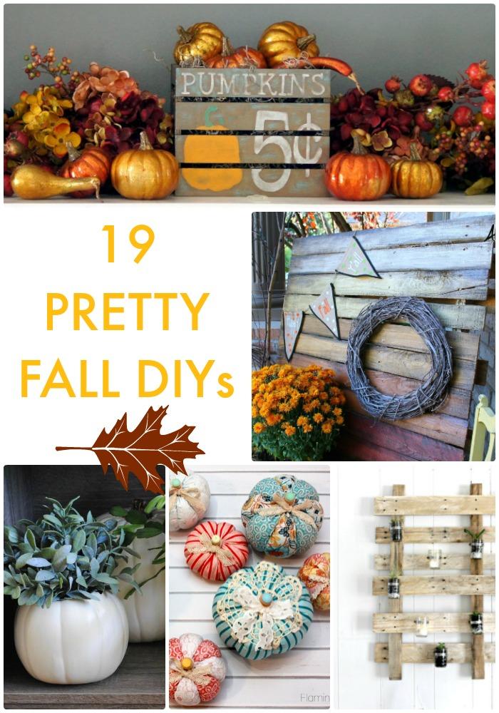 19 pretty fall diys Great Ideas 19 Pretty Fall