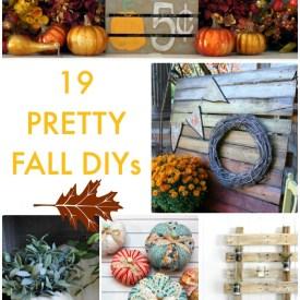 Great Ideas — 19 Pretty Fall DIYs!