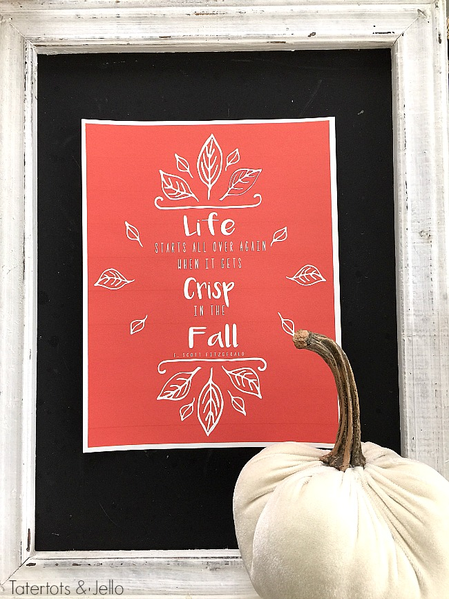 fall autumn printable