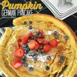 Giant Pumpkin German Pancake Dutch Babies