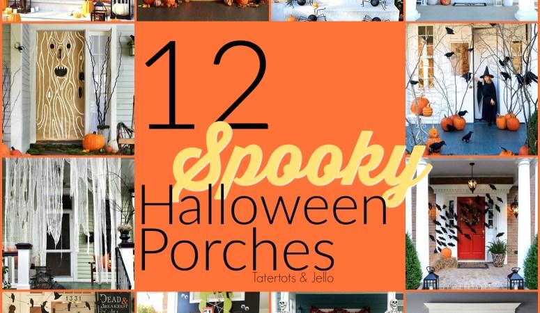 12 Spooky Halloween Porch Ideas!